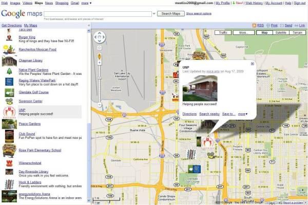 Google Map2AV